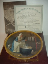 1986 Knowles Norman Rockwell Light For The Winter Plate w/ COA and Box - $19.99