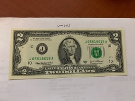 United States Jefferson $2 uncirc. banknote 2003 #14 - $7.95