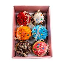 "Kurt Adler Set of Six 2.75-Inch Foam Cupcake Ornaments 2.75"" - $16.88"