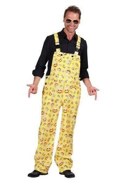 Emoji - Smiley face  Dungarees