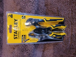 Stanley 3 Piece Pliers Set STHT72309