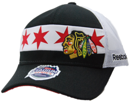 Chicago Blackhawks Reebok VT01Z 2016 Stadium Series Snapback NHL Hockey ... - €18,50 EUR