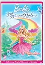 Barbie  - Magic of the Rainbow Dvd - $10.99
