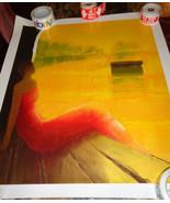 Lithograph Signed Emile Bellet Seriolithograph D'or et de Reve  - $142.50