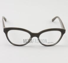 New Prada Eyeglasses VPR 11R UAM 101 Glossy BrownAcetate 50 17 140 Authentic - $80.75
