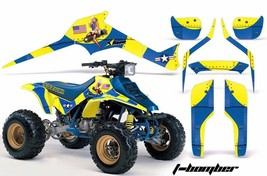ATV Graphics Kit Decal Sticker Wrap For Suzuki Quadracer LTR 250 85-92 TBOMBER Y - $168.25