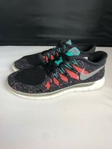 NIKE FREE 5.0 Running Gym Fitness Shoes Black Hyper Jade Galaxy Womens Size 8.5 image 8