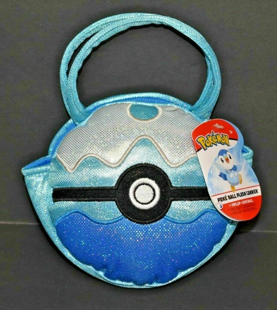 Primary image for Pokémon Piplup Pokéball Plush Carrier new