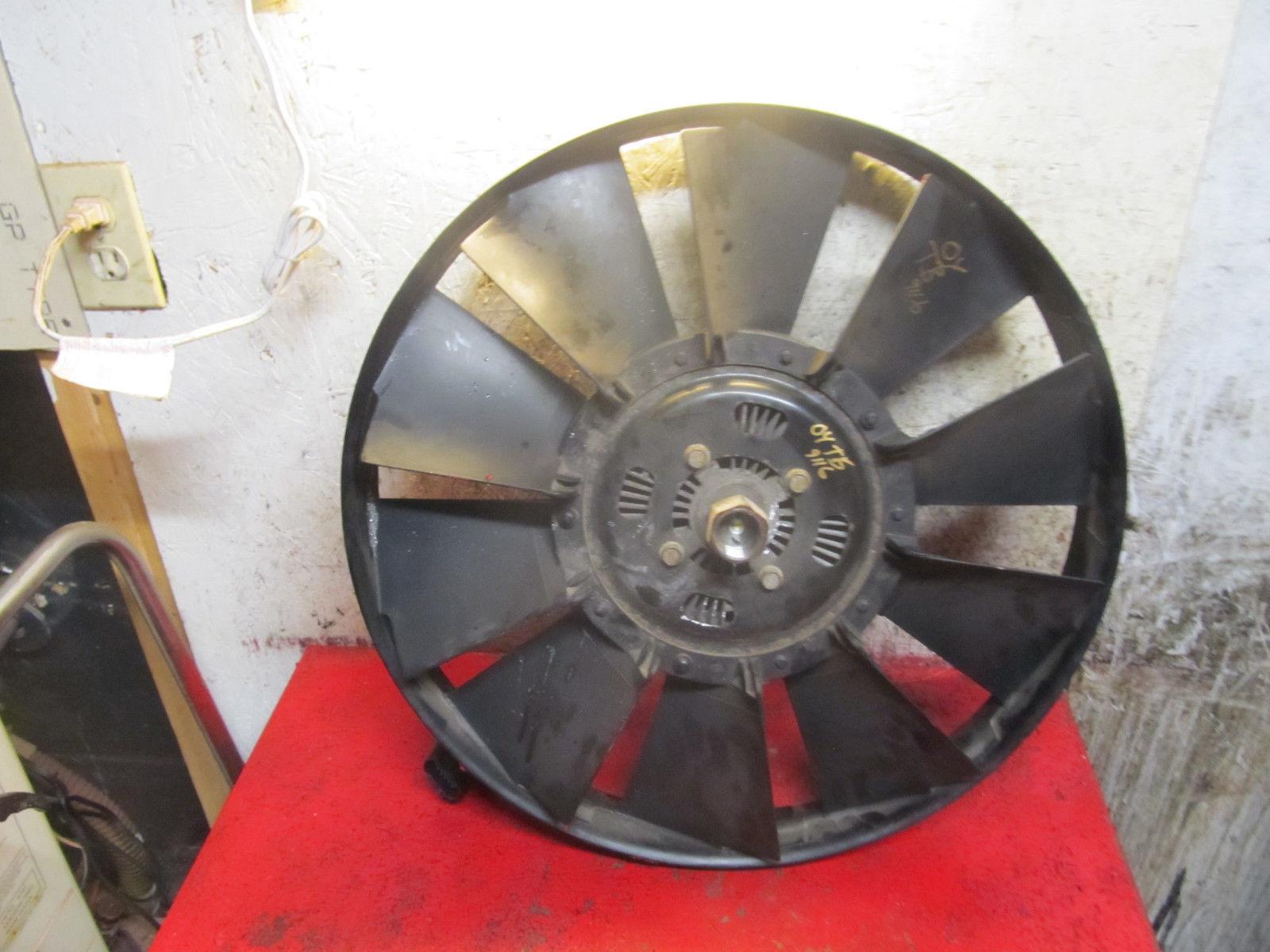 04 trailblazer cooling fan clutch