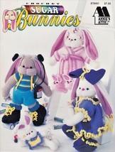 Sugar Bunnies Crochet Hare Roller Bunny Sitter Bun-Dito Body Builder Roc... - $12.82