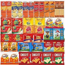 Crackers Variety Pack Individually Wrapped Assortment Including Crackers and Che
