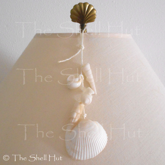 Beach Seashell Ornament Shell Wall Garland Christmas Seaside Coastal Beach House image 6