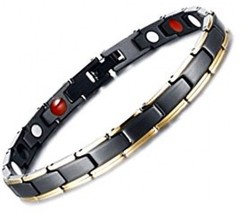 Titanium Magnetic Therapy Health Bracelet - 2018 New Pure Row 4 Elements - $50.45