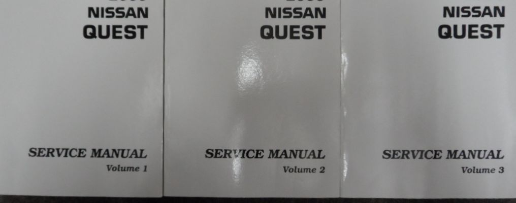 Primary image for 2001 Nissan Quest Service Shop Repair Manual 3 Volume Set FACTORY OEM BOOKS NEW