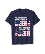 Brother Shirts - Funny US Flag Beer July 4th T Shirt gift best for men women Men - $19.95 - $23.95