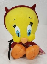 TWEETY BIRD DEVIL PLUSH TOY LOONEY TUNES Russell Stover with Tag - $18.99