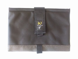 "Waterfield SF Bags 11.5"" Tablet Sleeve Black/Check Canvas Horizontal Open New - $29.69"
