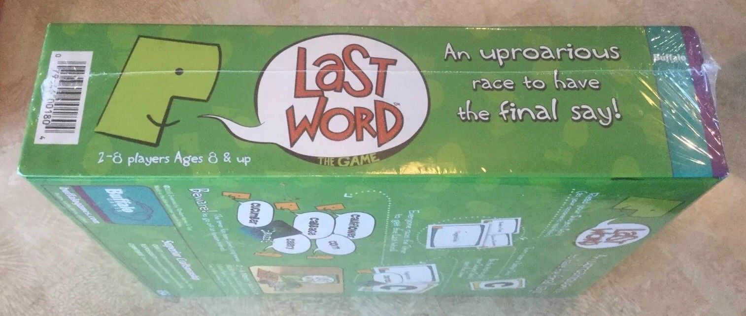 Last Word The Game New Sealed image 4