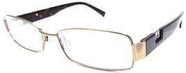 Calvin Klein CK Rx Eyeglasses Frame 54-16-140 Bronze / Dark Tortoise Brown - $16.17