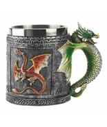 Medieval Royal Dragon Motif Decorative Mug - $14.18