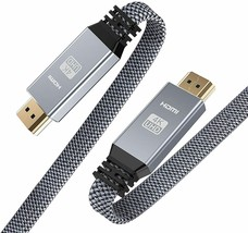 Snowkids HDMI 2.0 High Speed 18Gbps Nylon Braided Cable, 10 Feet