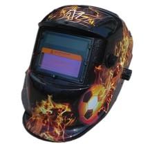 Darkening Welding Helmet having Designer Graphics & Vibrant Color Shading - $35.18