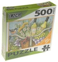 Lang 500 Piece Jigsaw Puzzle Garden Cheers 24x18 Artwork Susan Winget Ar... - $10.19