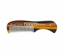"Kent 81T 2 3/4"" 73mm Men's Handmade Beard/Moustache Comb, X-Small Pick Q... - $10.49+"