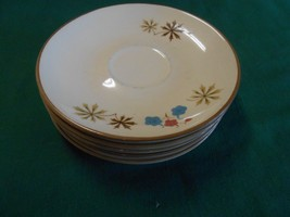 Great Collectible FRANCISCAN Color Seal Dinnerware Set of 5 SAUCERS - $8.72