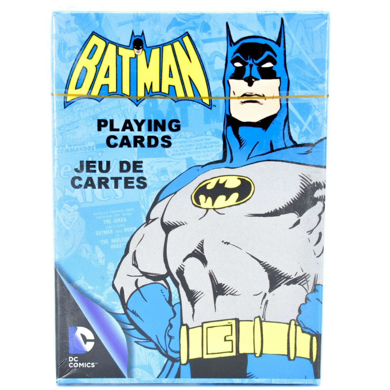 Aquarius DC Comics Retro Batman Themed Playing Cards Deck