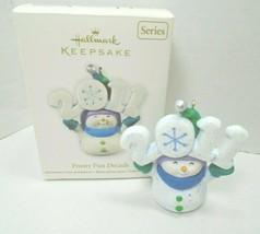 Hallmark Keepsake Ornament 2011 Frosty Fun Decade #2 In The Series - $28.04