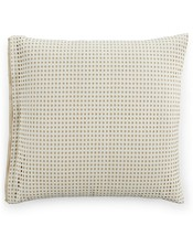 Hotel Collection Euro Pillow Shams Modern Eyelet Set 2 - $44.50