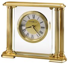 Howard Miller 613-627 (613627) Athens Mantel/Mantle/Shelf Clock - Brass - $189.00