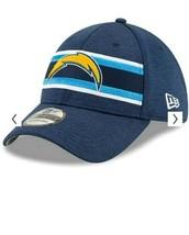 New Era Los Angeles Chargers 3930 OF 2018 Super Bowl LIII Flex Fit Hat B... - $31.68