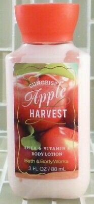 Bath and Body Works BODY LOTION 3 oz.  Travel Size suncrisp apple harvest new