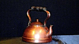 Brass Teapot with Lid AA19-1442 Vintage image 1