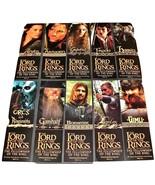 20 LOTR Fellowship Of The Ring BOOKMARKs Movie Promo Gimli Hobbit 7.25x2... - $9.99