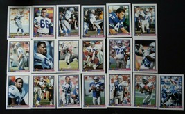 1991 Bowman Seattle Seahawks Team Set of 19 Football Cards - $4.50