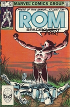 (CB-15} 1983 Marvel Comic Book: ROM #43 - $5.00