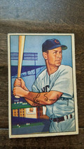 1952 BOWMAN BASEBALL CARD ROY SMALLEY CHICAGO CUBS BRAVES PHILLIES # 64  - $7.99