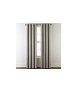 (1) JCPENNEY JCP Home Sullivan SOLID OXIDE GRAY Blackout Grommet Curtain... - $45.95