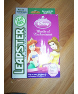 Leap Frog Leapster Disney Princess Worlds of Enchantment Game PreK 1st G... - $16.00