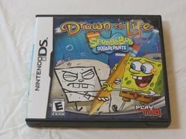 Dessiné Pour Life Bob L'Éponge Squarepants Édition Nintendo DS 2008 E-Everyone - $15.95