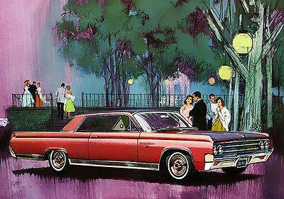 Primary image for 1963 Oldsmobile 98 Custom Sports Coupe - Promotional Advertising Poster
