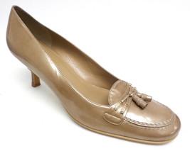 STUART WEITZMAN Beige Patent Leather 10 AA or Narrow Shoes Pumps - $22.50