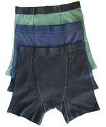 Mens Stashitware Secret Pocket Underwear, Boxer Briefs, Black, Blue,Gree... - $34.00