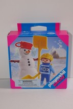 Playmobil Child with Snowman Special #4680 SEALED - $16.82