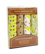 Kristen Hanah 4 Pack Assorted Flannel Receiving Blankets  - $14.99