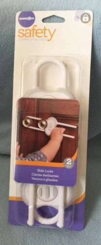 Safety 1st Slide Lock keep Babies Or Toddlers out of cabinets Away From Harm NEW