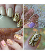 1 Sheet DIY Embossed 3D Blooming Flower Nail Art Stickers Decals Decoration - $1.60
